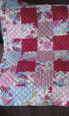 My first patchwork quilt