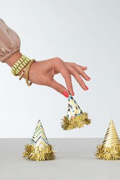 The tiniest party hats for big time celebrations!