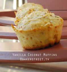 #MuffinMonday: Vanilla Coconut Muffins