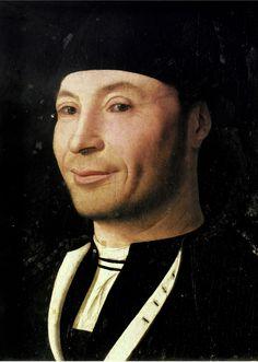 Antonello da Messina, Portrait of a Man, c. 1470-2