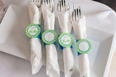 parti find, napkin rings, golf parti, parti napkin