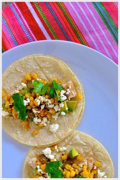 Tuesday Tastings, corn, tomatillo tacos, recipe, avocado, feta #camillestyles