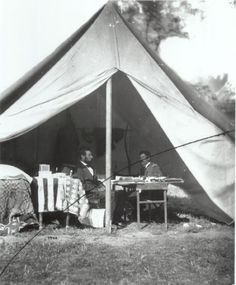 Lincoln meeting with McClellan