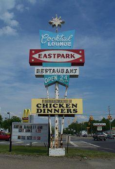 Eastpark Cocktail Lounge & Restaurant .....Ravenna, Ohio.  Has been open for business forever!! :)