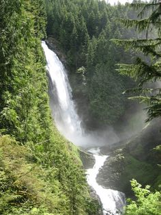Wallace Falls, Washington State - great hike for a day trip from Seattle