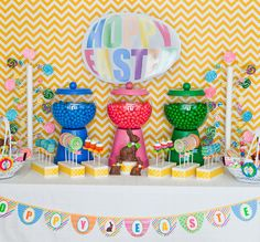 make your own gumball machines!
