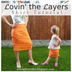 So Much To Make: Lovin' the Layers Skirt Tutorial