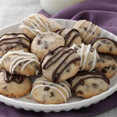 Chocolate Chip Butter Cookies Recipe