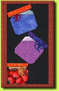 Piled Jars 1 - free pattern