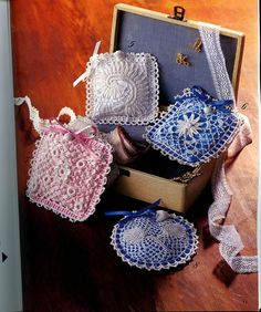 irish crochet;    when you scroll down you find picture tutorials and charts; a bit experience could be helpful, i think.