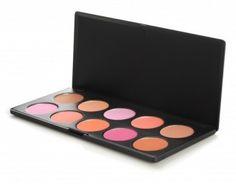 10 Piece Professional Blush Palette  $16.95 BH Cosmetics