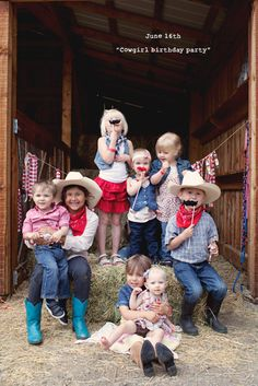 cowgirl western theme party toddlers