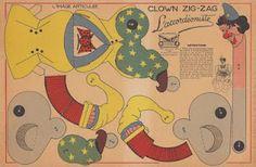 Il favoloso mondo di carta di Totò  @Amy Wilson Cocheba  Vintage paper toys to print!  Tag Eileen, for some reason I couldn't.