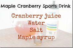 Forget dropping lots of cash on bottled sports drinks! Make your own with help from our friend Caitlin at The Healthy Tipping Point.