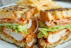 The Best Healthy Recipes: crunchy chicken sandwich recipe