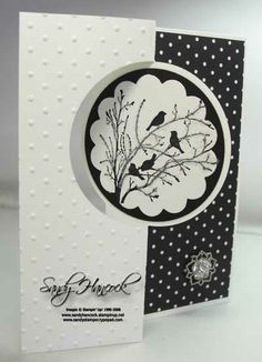 Serene Silhouettes, Stampin' Up!, details on my blog today at http://www.sandystamper.com/2013/09/circle-thinlits-and-serene-silhouettes.html
