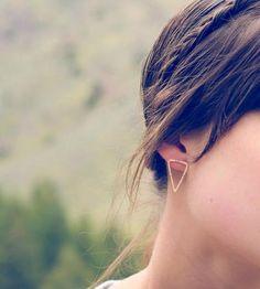 Arrowhead Sterling Silver Earrings