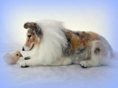 needle felted Rough Collie | Flickr - Photo Sharing!