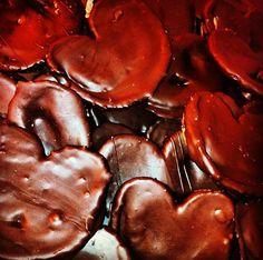mini #palmeras de #chocolate