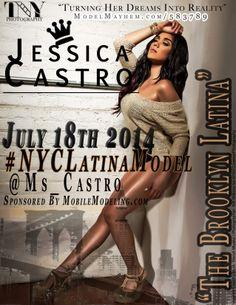 Model Jessica Castro. @Ms_Castro Twitter Campaign #NYCLatinaModel http://wp.me/p4cDOp-M2