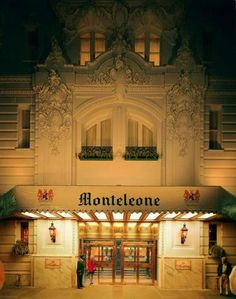 The Monteleone is a haunted hotel in the French Quarter, New Orleans