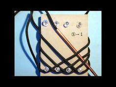 How to Tie a Paracord Turks head knot (Using board)(5L4B-7L6B-9L8B) -by- isainakazin