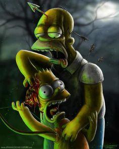 Zombie Simpsons