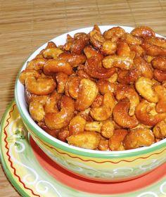 Orange Spiced Cashews | One Perfect Bite