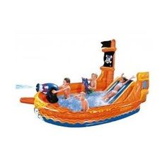 Ships Ahoy Pirate Ship Pool