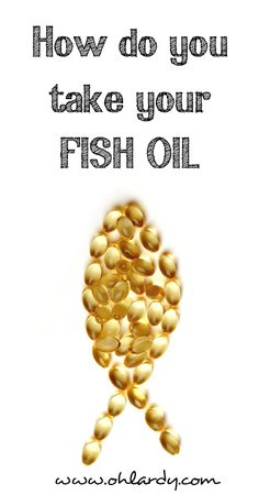 Benefits of Fish Oil - www.ohlardy.com