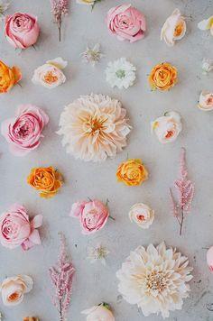 summer flowers, fleur, color palettes, wedding flowers, wedding colors, flower power, summer colors, flower guide, season flower