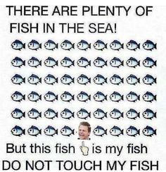 Hunter Hayes is my fish. Do not touch my fish!