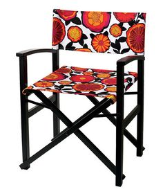 Save Now on this Red Floral Veranda Chair by tag on #zulily today!