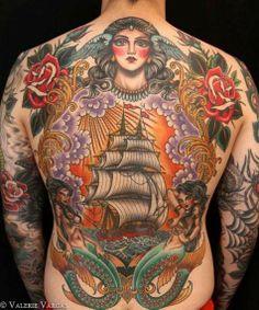 by London tattooer Valerie Vargas