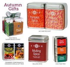 Stash Tea Blog Autumn Hostess Gifts  Halloween Party hostess gifts