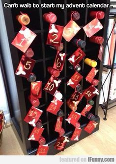 Can't Wait To Start My Advent Calendar.