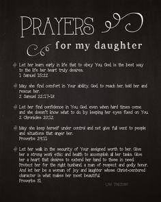 5 Prayers for My Daughter By Lysa Terkeurst