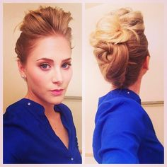 cute hair updo