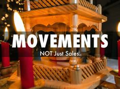 Make This Holidays About MOVEMENTS Not Just Sales