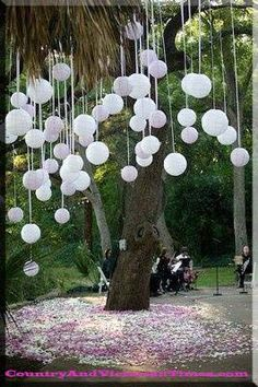 country wedding decorations cheap | wedding decoration decorations cheap balloon tree hang budget country ...