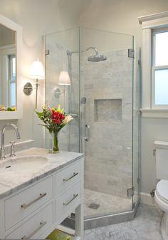 Houzz-- really like this bathroom