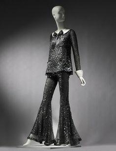 Suit worn by Barbra Streisand, Arnold Scaasi, 1969.  Museum of Fine Arts, Boston.