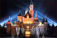 Disneyland (I would live there if I could)..Anaheim, CA