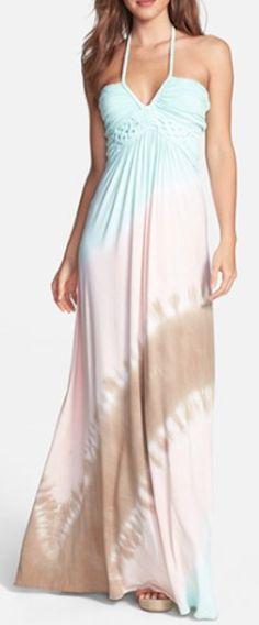 tie dye maxi dress  http://rstyle.me/n/jg8uvpdpe