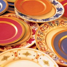 china pattern, plate, color china