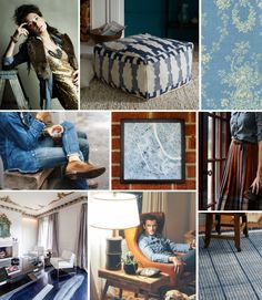 Mood Board Monday: Chambray (http://blog.hgtv.com/design/2014/01/20/mood-board-monday-chambray/?soc=pinterest)
