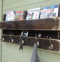 DIY pallet shelf... This is a MUST!!