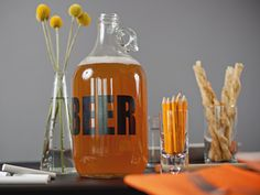Camille Styles' Beer Tasting Party via Cooking Channel