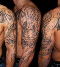 Dragon Tattoos - Tattoos.net