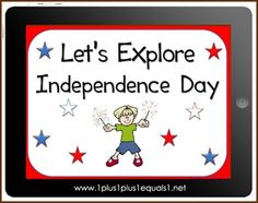 Let's Explore Independence Day eBook $1.00